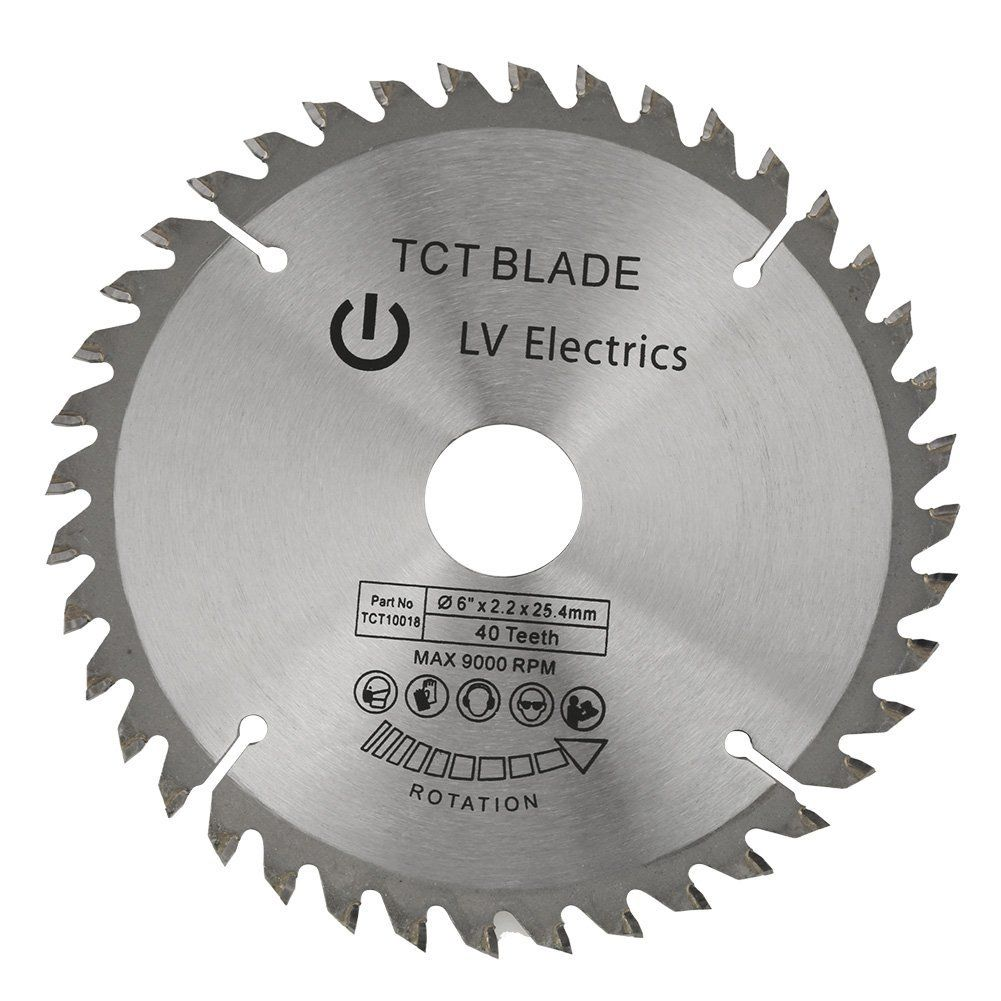 148mm Tct Woodworking Circular Saw Blade 40 Teeth 1pcs Reduction Rings Silver Compact Handheld Design For Circular Saw Blades Tools And Accessories Saw Blade