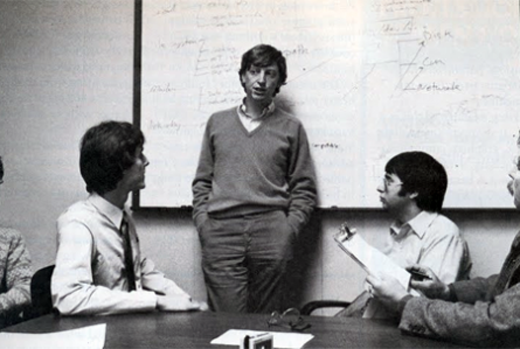 Bill Gates Computer magazines, Advertising research
