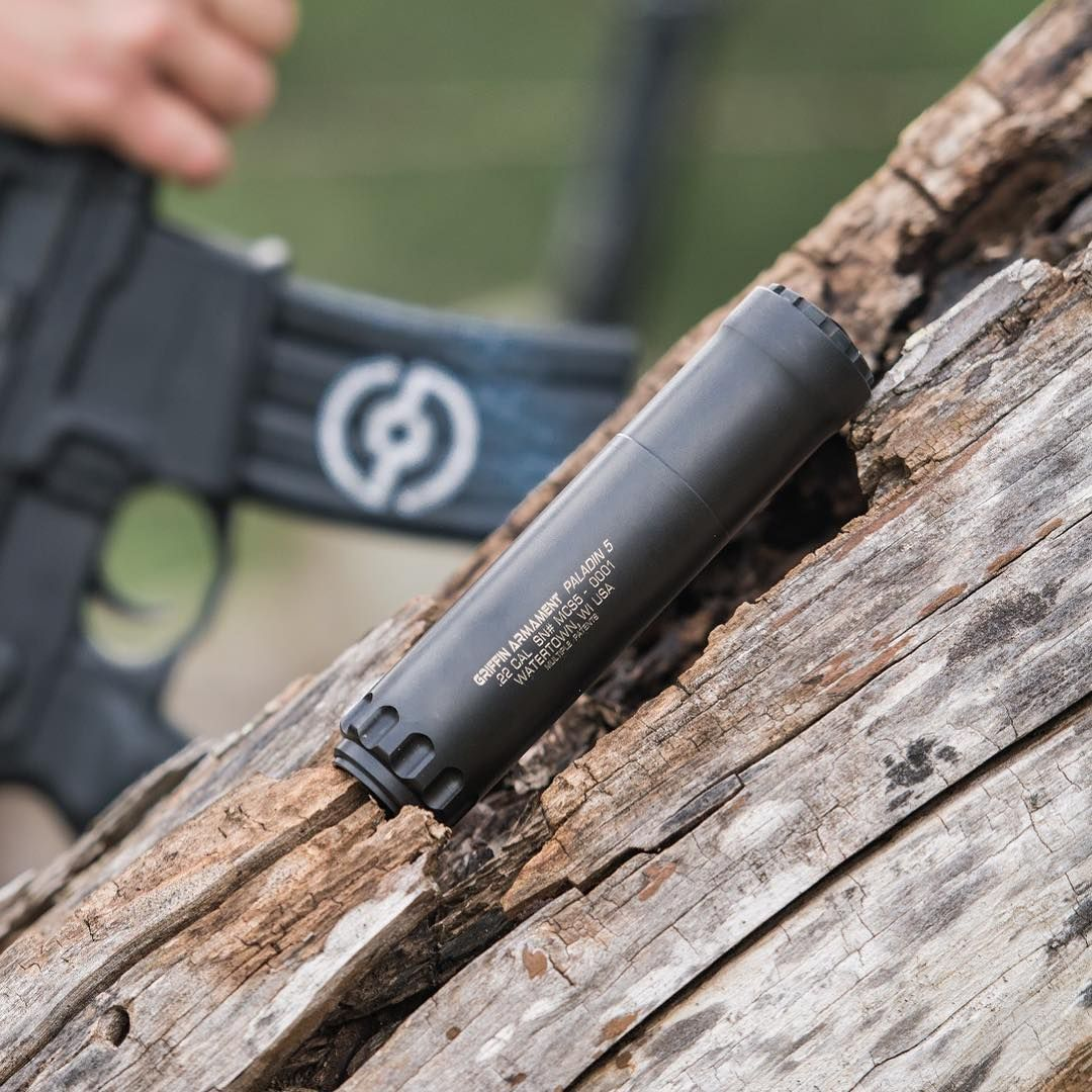 Griffin Armament Paladin 5   5 56mm Rifle Silencers