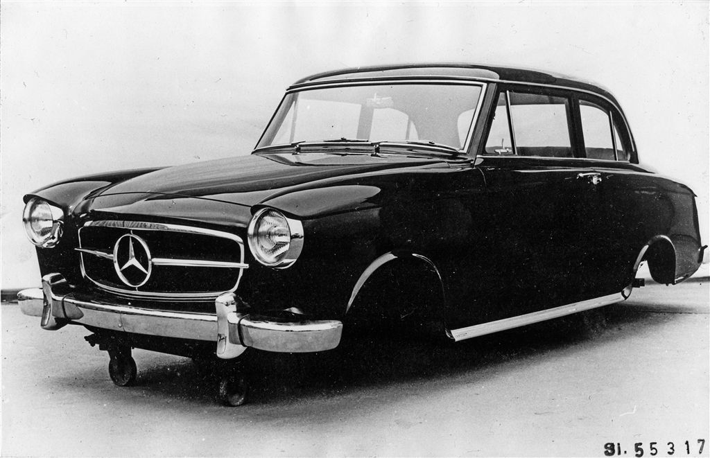mercedes benz w122 prototype mercedes benz factory photo 39 s pinterest mercedes benz cars. Black Bedroom Furniture Sets. Home Design Ideas