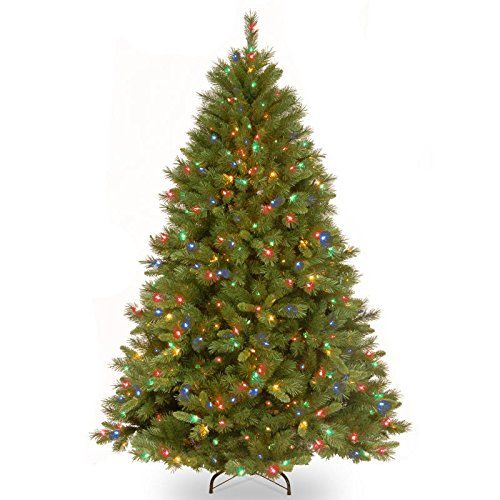 75 PreLit Full Winchester Pine Artificial Christmas Tree  MultiColor Lights *** You can find out more details at the affiliate link of the image.