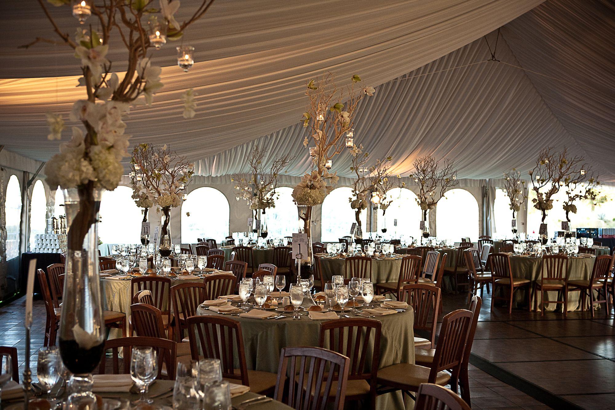 Abbey Resort Wedding Tent san diego tent weddings