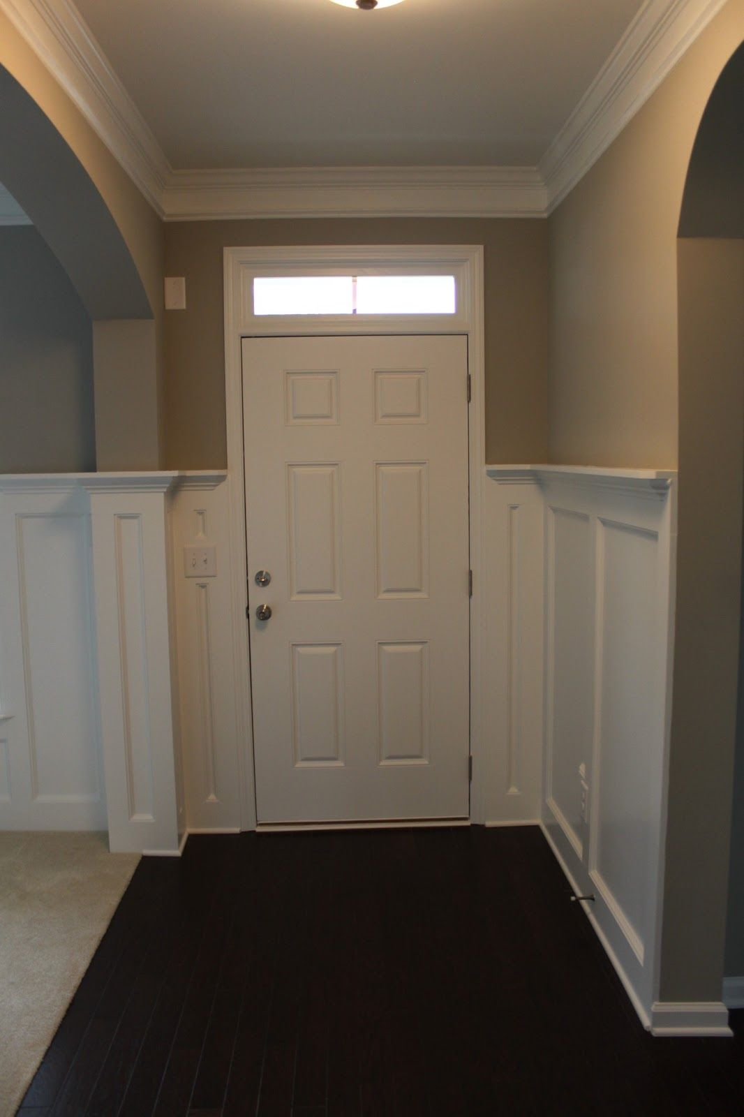 office wainscoting ideas. Wainscoting.- Entry Into Dining Room And Office Wainscoting Ideas T