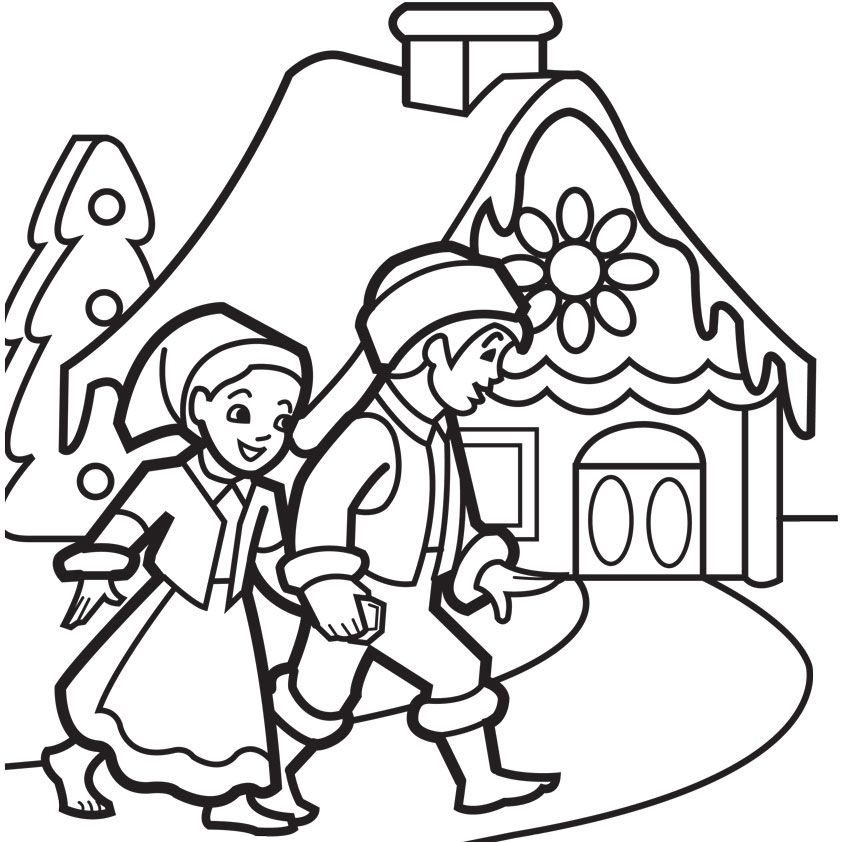 iColor  - new coloring pages for christmas story