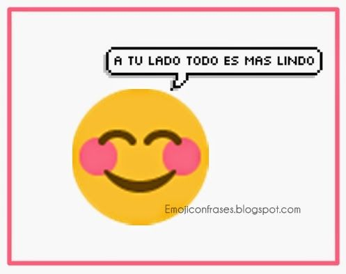 Imagenes Para Whatsapp Con Frases Emojis Pinterest Frases