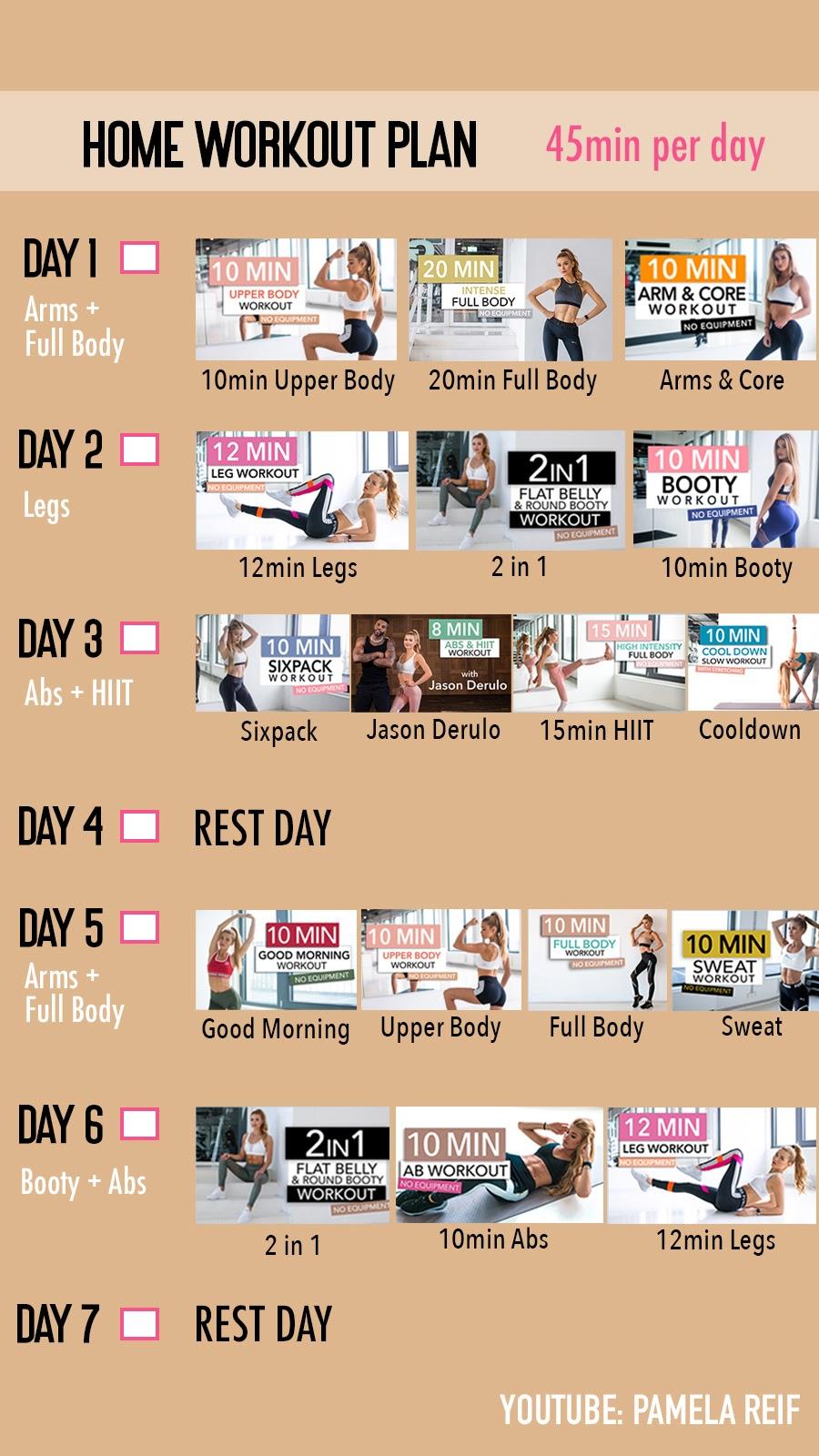 #Diät Pamela Reif – diatdeu – beauty routine schedule