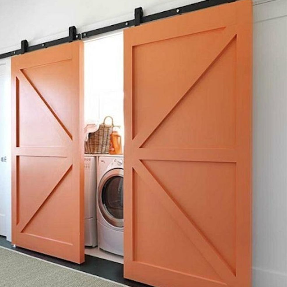 Modern Laundry Space Design Hidden Laundry Chic Beach House