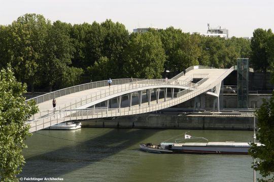 Resultats De Recherche D Images Pour Passerelle Simone De Beauvoir Structure 歩道橋 橋 建築