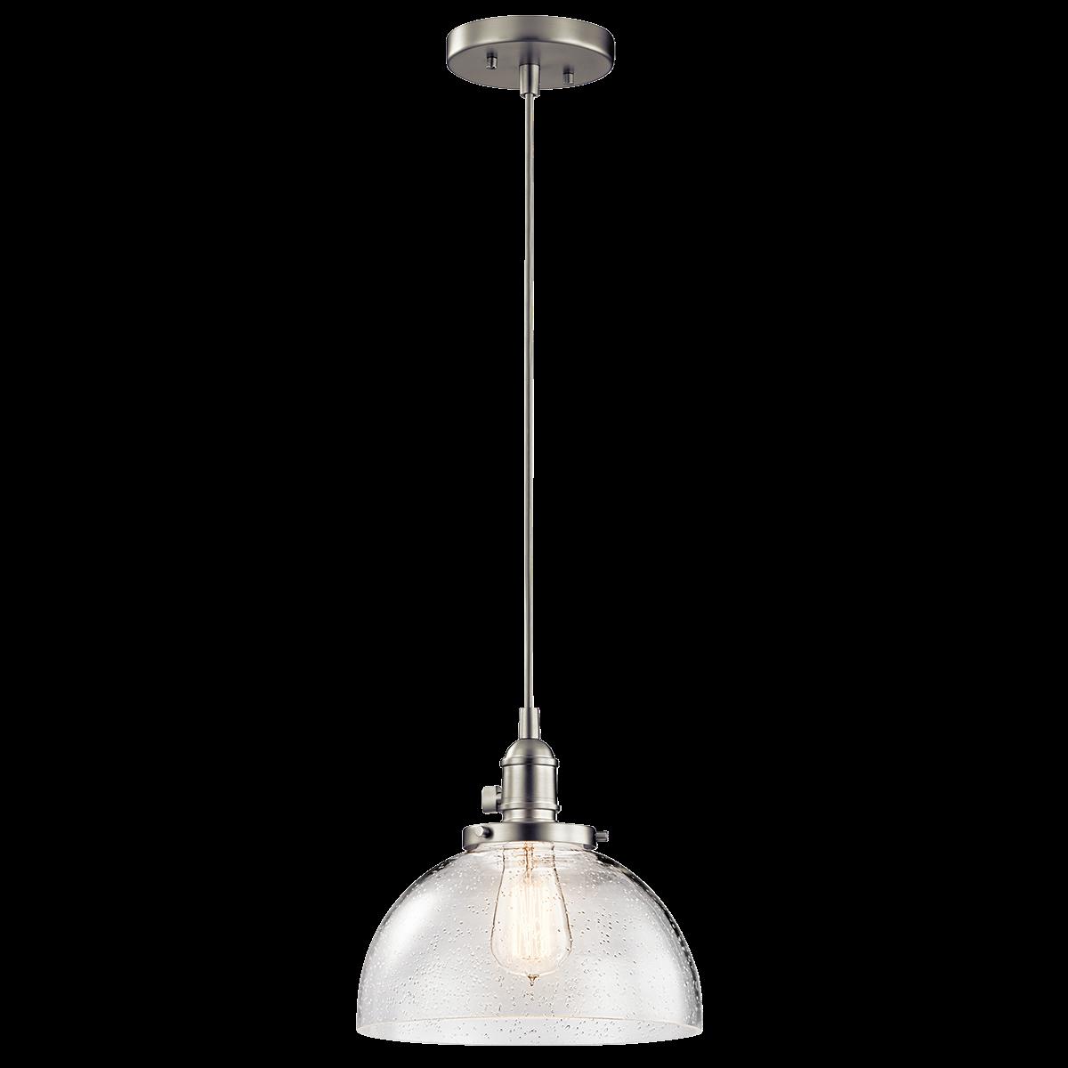 1 Light Avery Mini Pendant - Brushed Nickel kitchen island | Shit ... for House Light Png  10lpwja