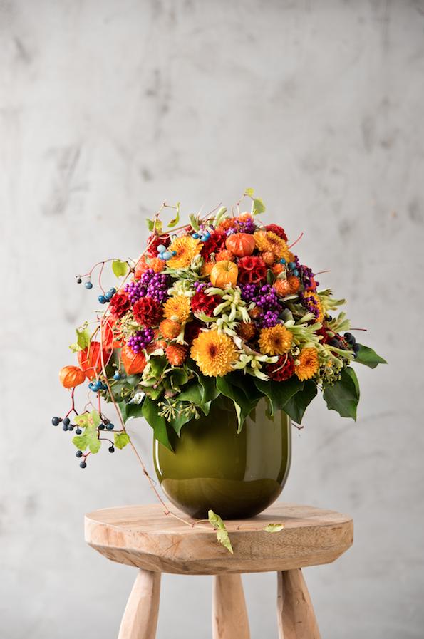 chrysantheme weinrebe horstensie kugelamarant skabiose scheinrebe lampionblume. Black Bedroom Furniture Sets. Home Design Ideas