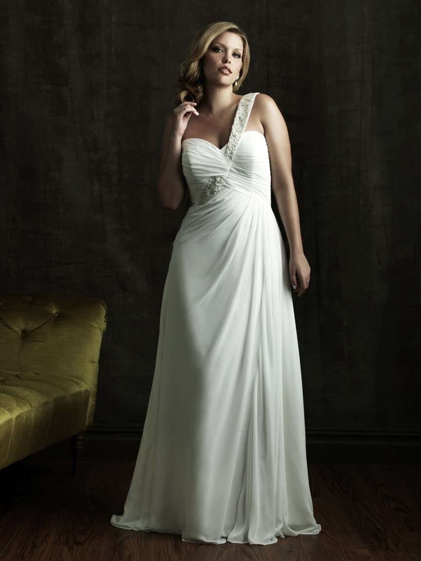 Wedding dresses for older ladies  Plus Size Wedding Dress Fat Style Bride Gown Bridal Dress