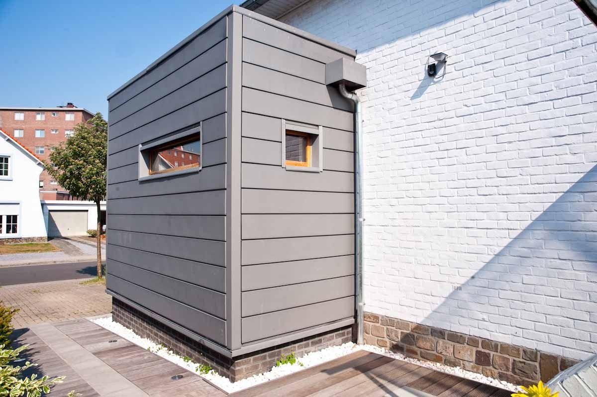 soubassement en briques ton gris brun fonc s 39 accordant. Black Bedroom Furniture Sets. Home Design Ideas