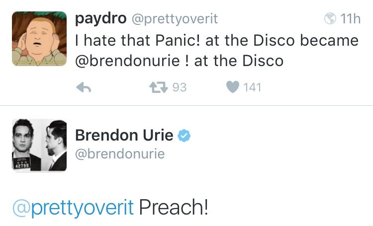 march 11th ✧ brendon urie on twitter