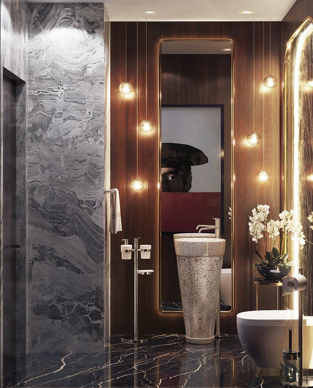 Portfolio Cottage In The Village Lazurniy Bereg Washroom Design Bathroom Accessories Luxury Elegant Bathroom