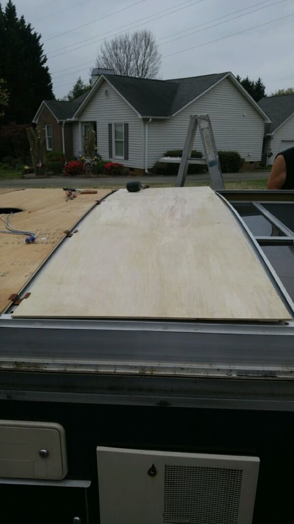Ceiling Panel Replacement 77 Apache Roamer Vintage