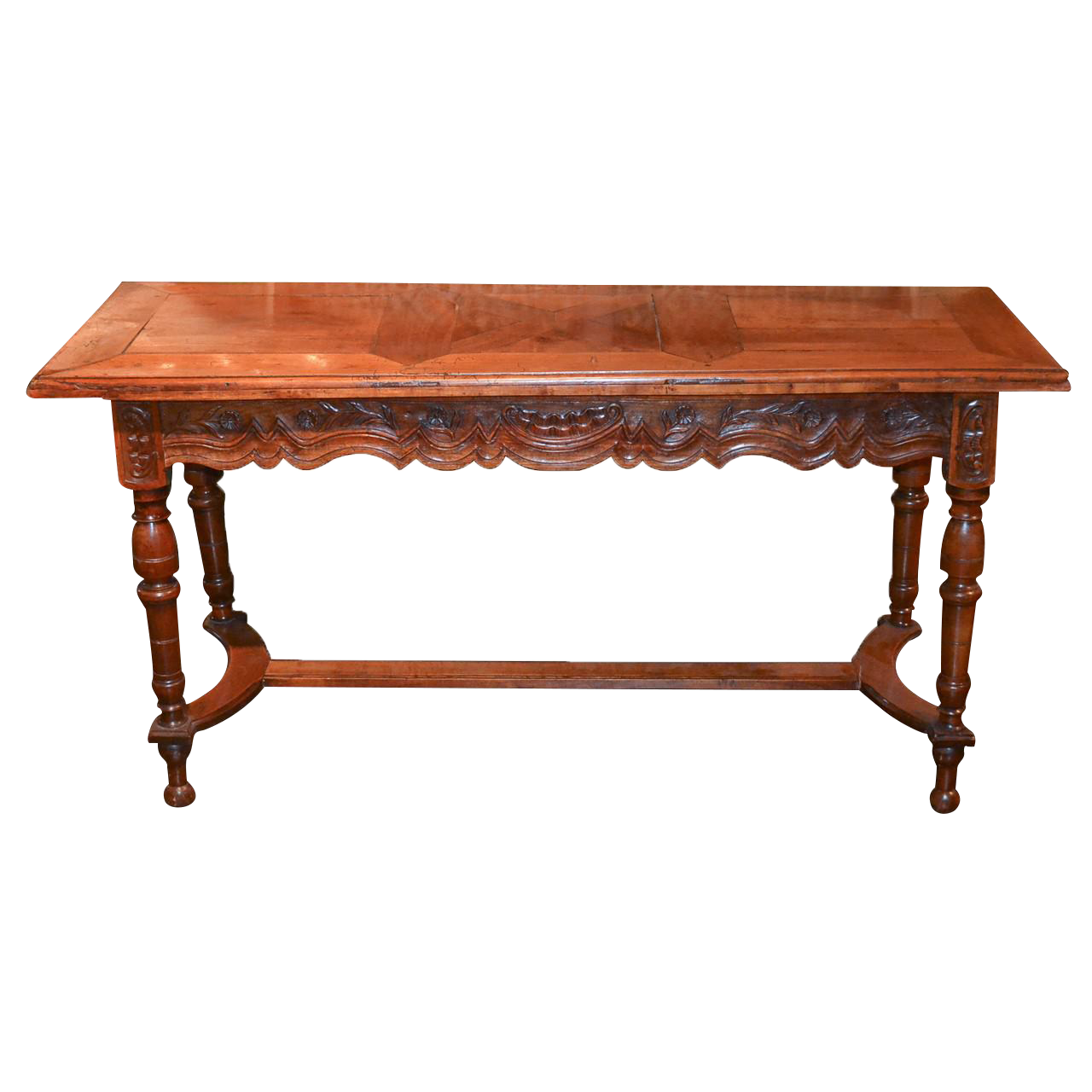 Th c french provincial sofa table on decaso antique tables