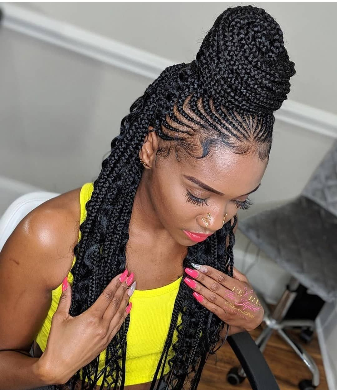 30 African Hair Braiding Styles Pictures That Will Be Awesome For Your Hairdo African Hair Braiding Styles Cornrow Braid Styles African Hairstyles