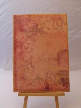 Faltmappe mit Scrapbookingpapier | Bastelfrau