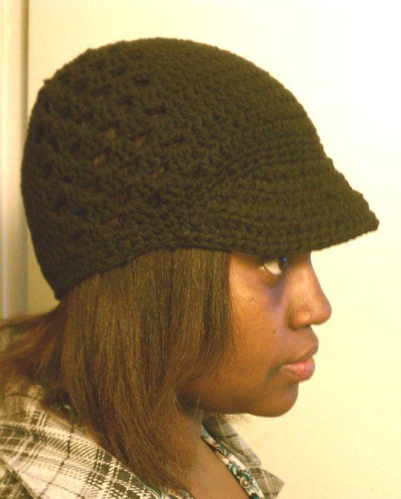 Crochet Hat Crochet Pattern Newsboy Caron Simply Soft Crochet