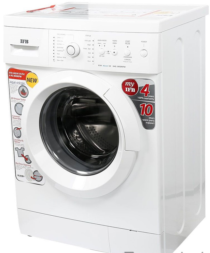 Ifb Washing Machine Eva Aqua Vx 6kg 800 Rpm In 2020 Washing Machine Aqua Machine