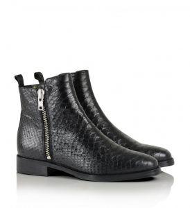 688835ebe58 Billi Bi - black snakeskin ankle boots   Dresses and more in 2019 ...