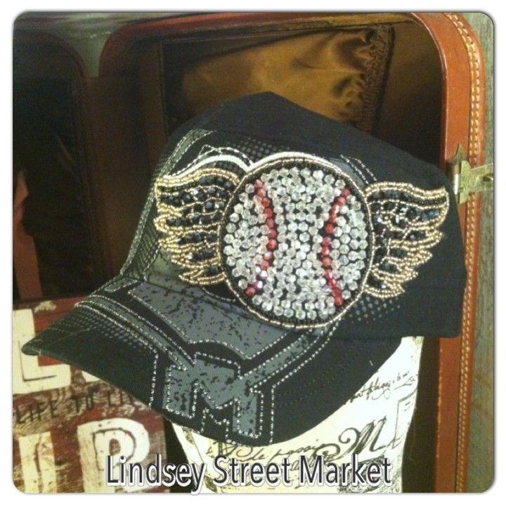 Baseball Cap (Black) from Lindsey Street Market for $22.99 on Square Market
