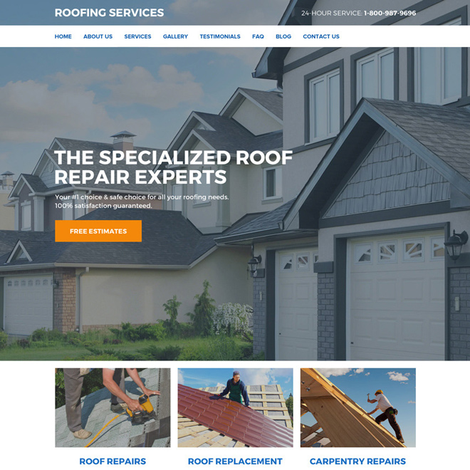 Roof Repair And Replacement Services Responsive Website Design Roof Roofing Restoration Roofingservice Residenti In 2020 Roof Restoration Roofing Services Roofing