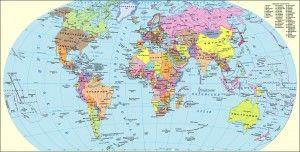 Politicheskaya Karta Mira Karta Mira Karta Geografiya
