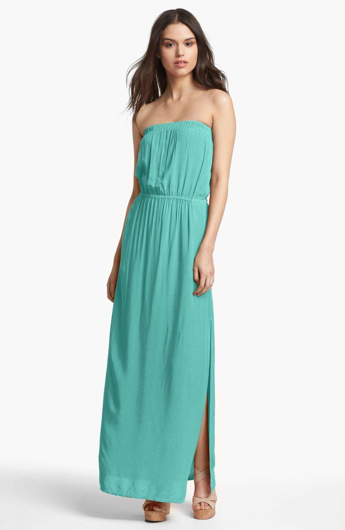 strapless-maxi-dress- | Straplees Maxi Dress | Pinterest | More ...