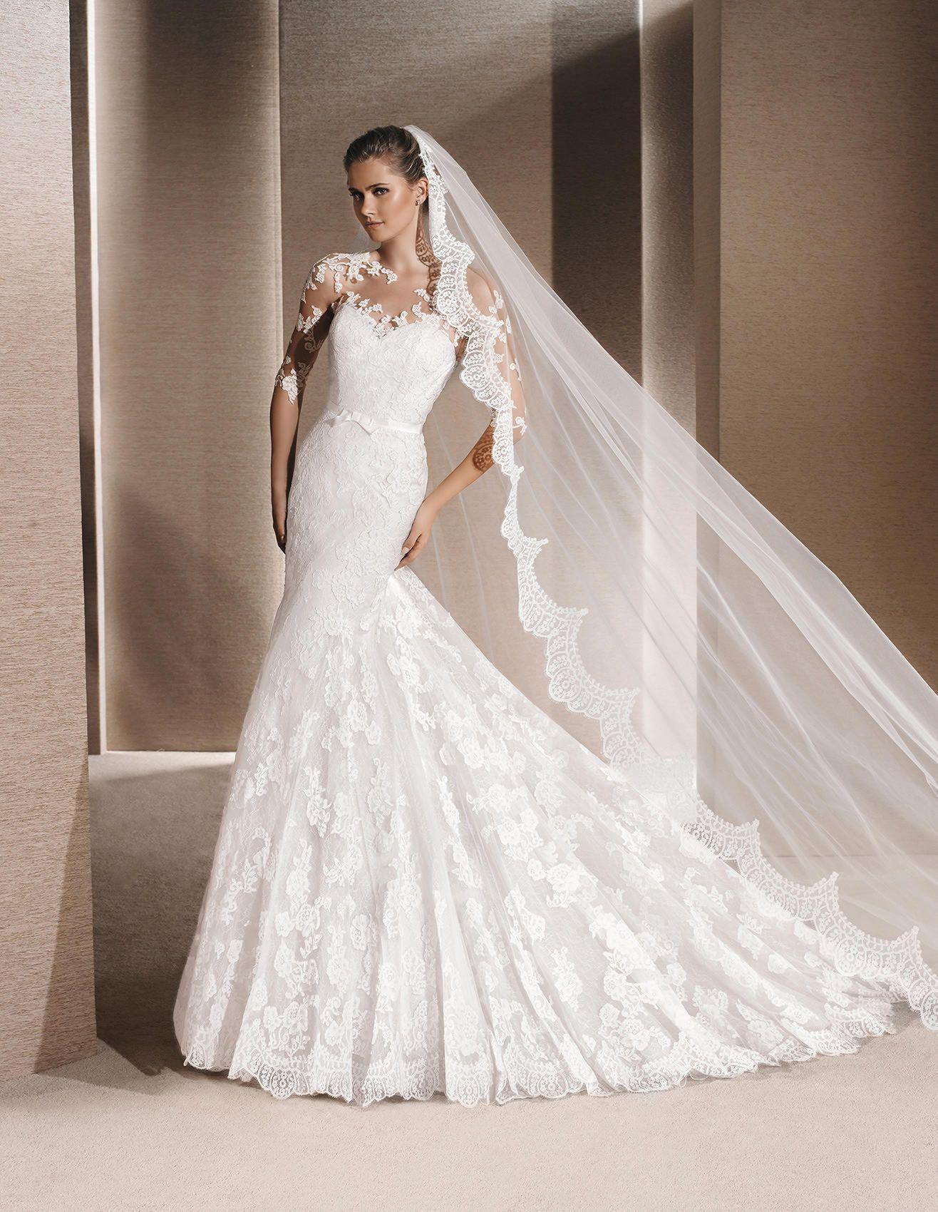 REINARA - Originelles Brautkleid im Meerjungfrau-Stil | La Sposa ...