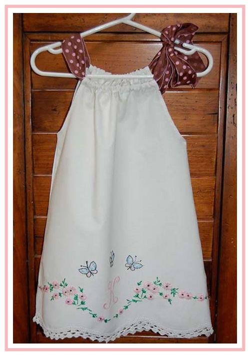 Sew Sweet Patterns: Pillowcase Dress Tutorial! Con patrón. | Costura ...