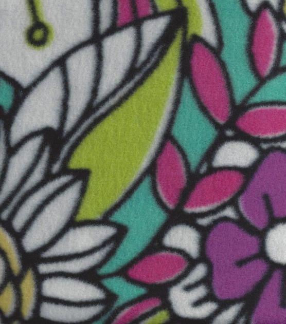 Anti Pill Fleece Fabric- Madianne Mardi Gras at Joann com