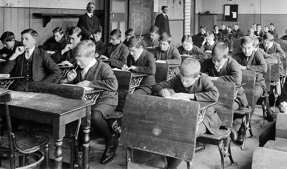 Image result for grammar schoolt traditional class