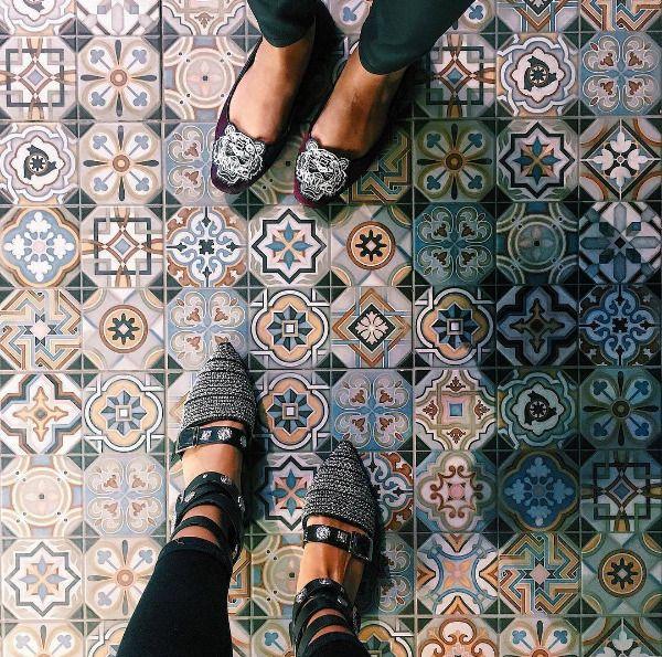 TILE DEALS / SAMPLES: Vienna Park Patchwork Victorian Wall & Floor Tiles