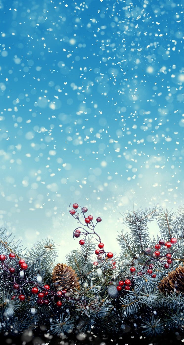 Christmas snow wallpaper background. G;) | ❤ CréatYvo Hintergrund ...