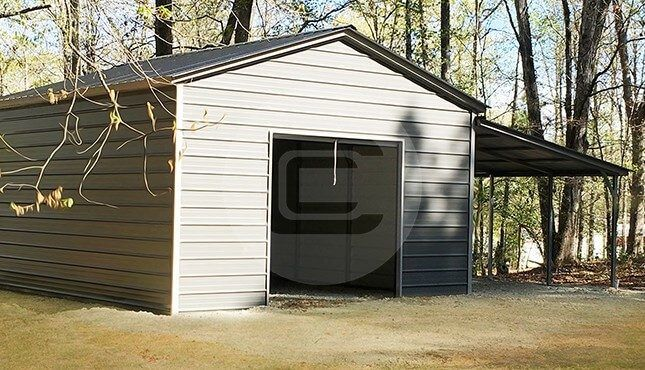 30 20 Lean To Building Home In 2019 Metal Shed Shed Building Plans Steel Garage Buildings