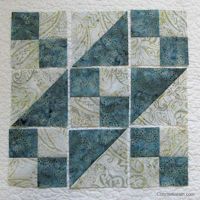 Jacob's Ladder Free Quilt Block Pattern | Tutorials, Easy and ... : easy quilt block patterns - Adamdwight.com