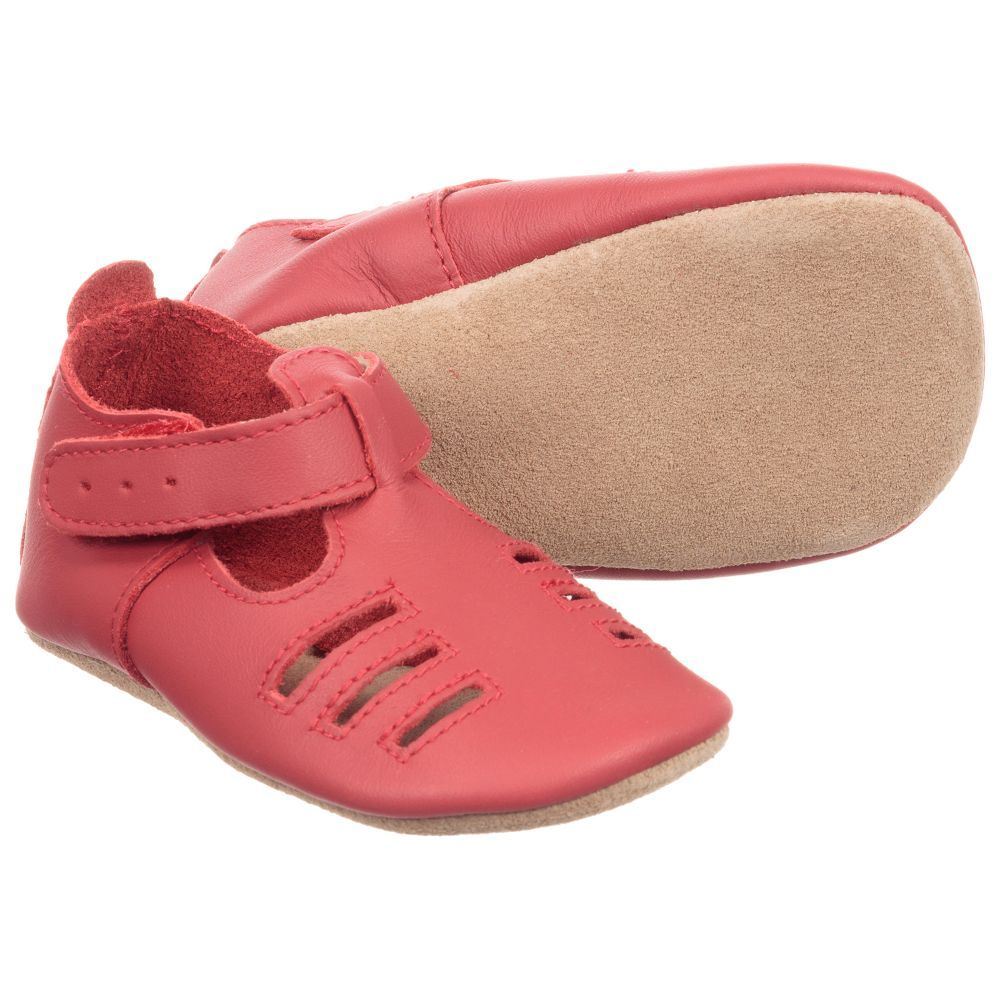 5c330c4fe020 Bobux Soft Sole Red Leather Pre-walker Shoe. Shop from an exclusive  selection of designer Shoes