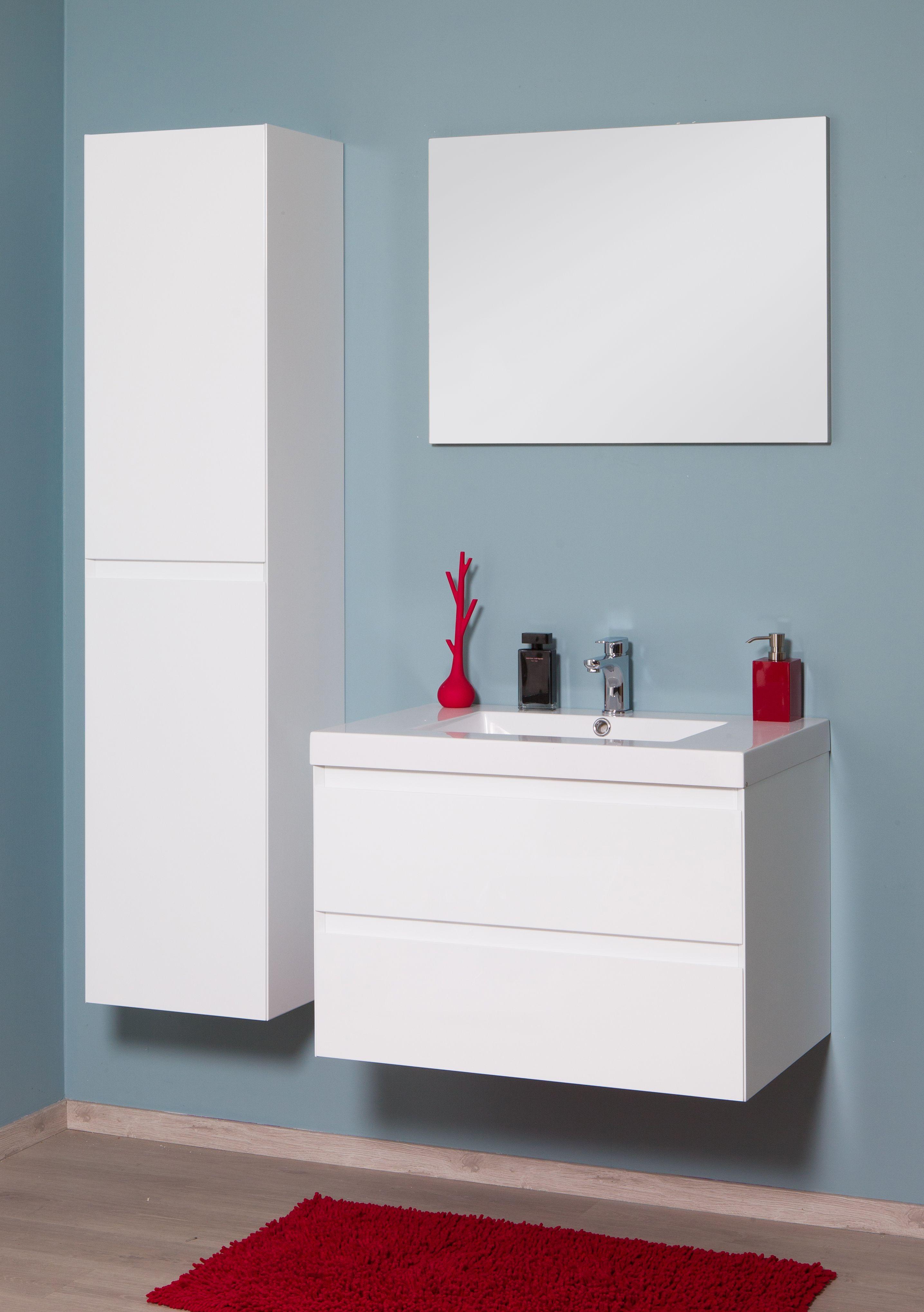 badkamermeubel divine wit enkel badkamer ideeen pinterest