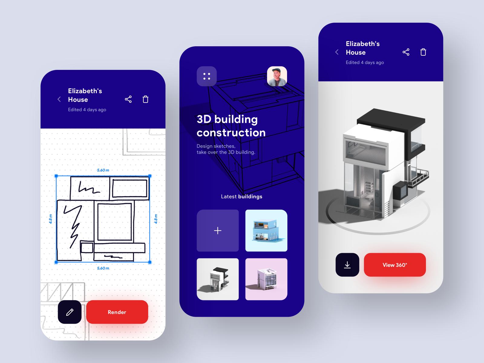 Sketch To 3d Building Model App 3d Building Models 3d Building Design Inspiration