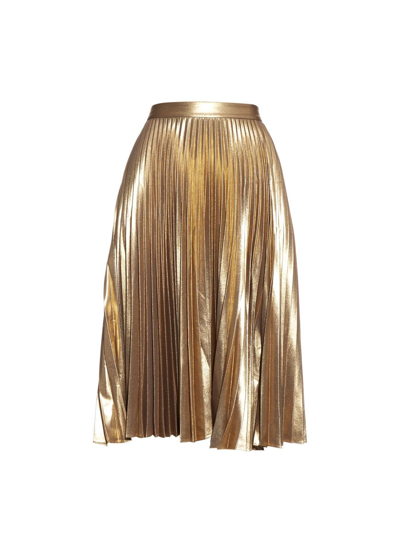 19c9401375 13 Gucci-Inspired Metallic Pleated Skirts to Shop Now | @stylecaster