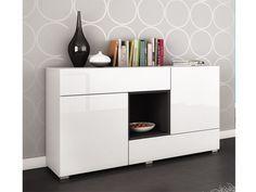 mueble buffet moderno blanco opcion alternativa | Aparadores ...