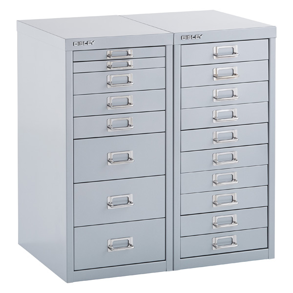 Bisley Silver 8 10 Drawer Collection Cabinets In 2020 Storage Cabinet Drawers