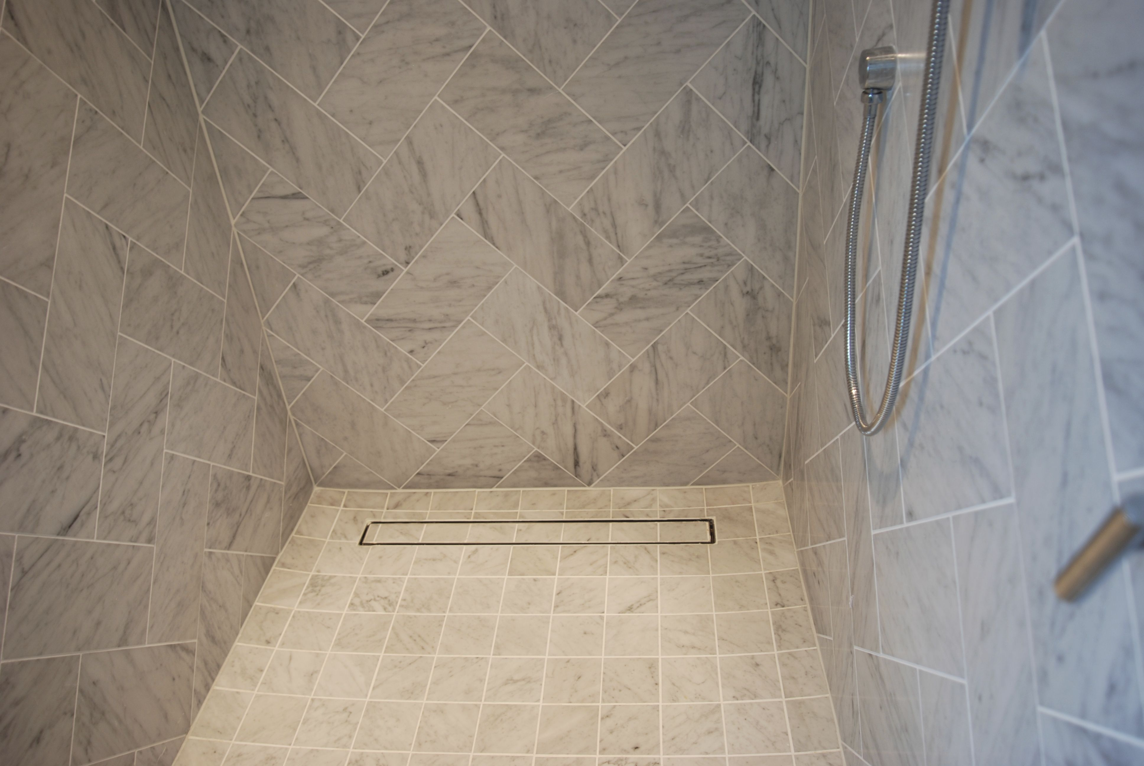 The Benefits Of Linear Shower Drains Linear Drain Shower Tile