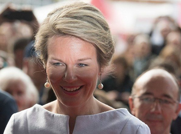 Queen Mathilde visited the 2017 Frankfurt Book Fair
