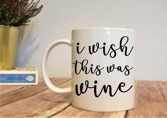 Wine Gifts Women | Christmas Gift Ideas | Wine Lover | Gift For Coworker | Funny Christmas Gift | Pregnancy Gift Box | Mugs With Sayings #coworkerchristmasgiftideas
