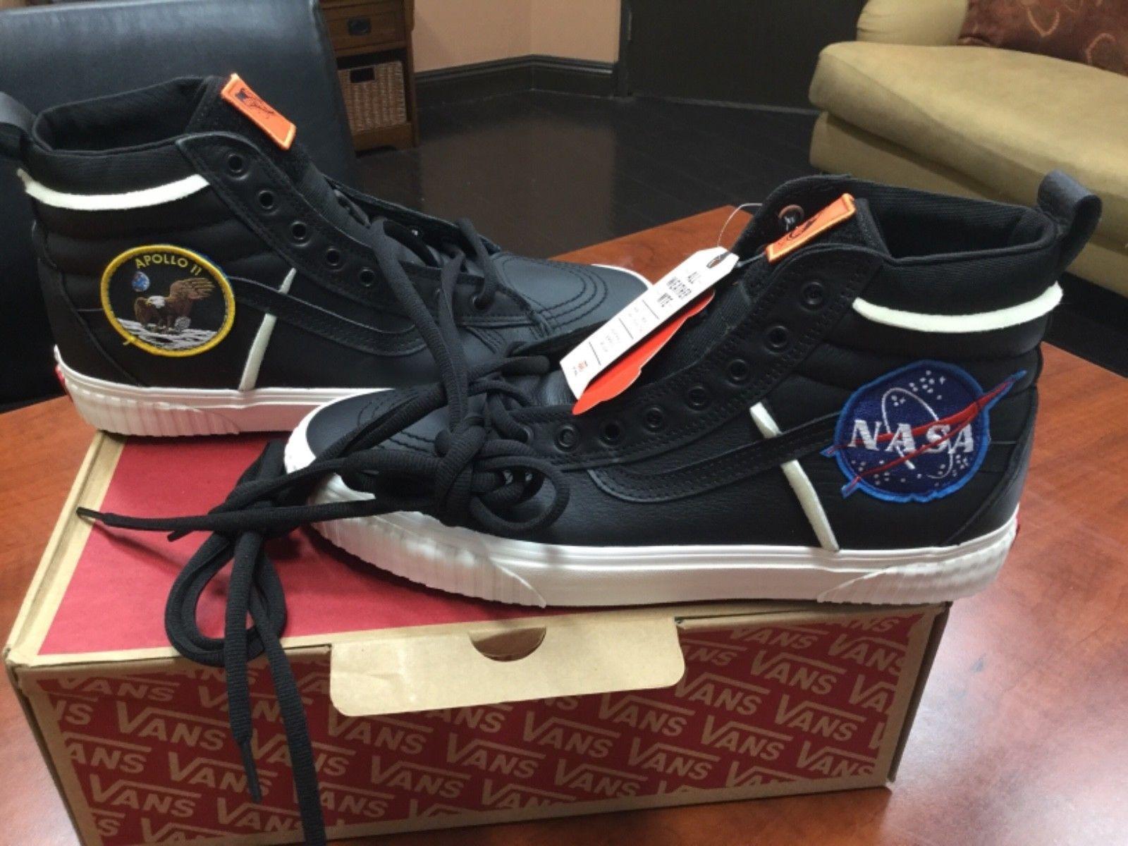 cb1ca8755b Details about Vans x Space Voyager SK8-HI 46 MTE DX NASA Black White ...