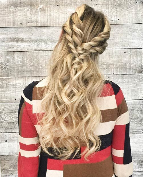 Hairstyles Half: 31 Half Up, Half Down Prom Hairstyles
