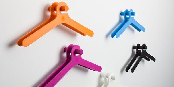 Designer Coat Hangers from Smool