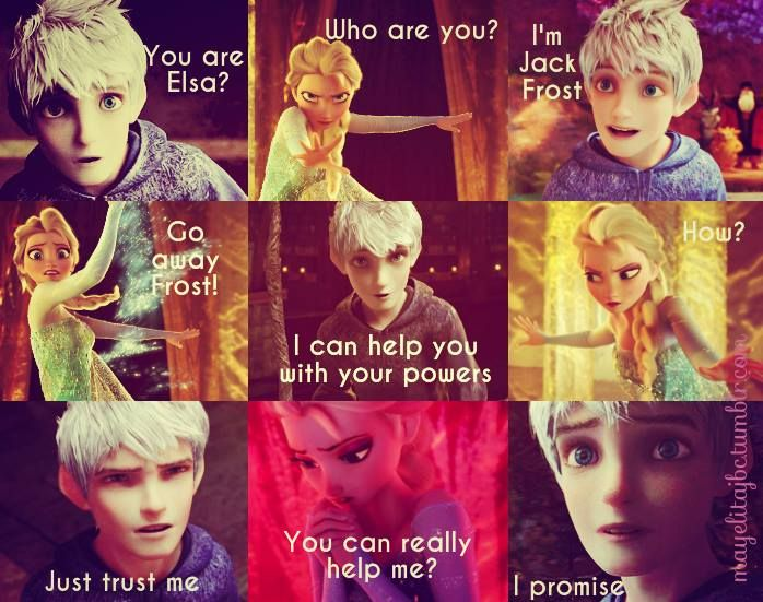 Pin By Jelsasnow89 Roche On Legends Of The Guardians Jack And Elsa Disney Funny Jack Frost And Elsa
